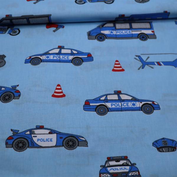 Bavlnená látka Police 160cm