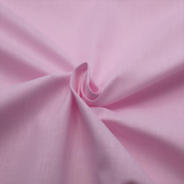 Bavlnená látka bledoružová 140 cm