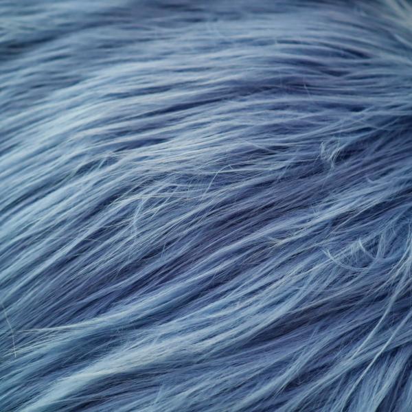Kožušina modrá