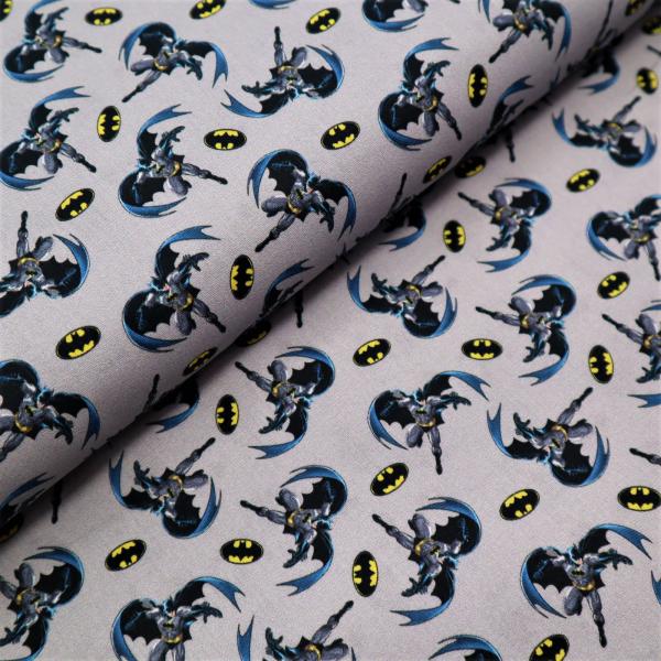 Bavlnená látka-Popelín Batman