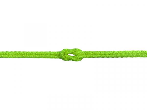 Bavlnená šnúra zelená 5mm