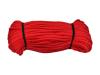 Bavlnená šnúra červená 5mm